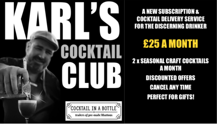 Karl's Cocktail Club - A New Subscription Service